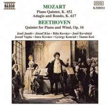 Wolfgang Amadeus Mozart (1756-1791): Quintett KV 452 für Klavier & Bläser, CD