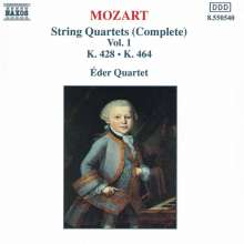 Wolfgang Amadeus Mozart (1756-1791): Streichquartette Nr.16 & 18, CD