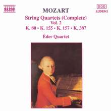Wolfgang Amadeus Mozart (1756-1791): Streichquartette Nr.1,2,4,14, CD