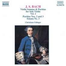 Johann Sebastian Bach (1685-1750): Sonaten & Partiten für Violine BWV 1004-1006, CD