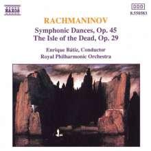 Sergej Rachmaninoff (1873-1943): Symphonische Tänze op.45 Nr.1-3, CD