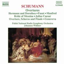 Robert Schumann (1810-1856): Ouvertüren, CD