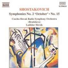 Dimitri Schostakowitsch (1906-1975): Symphonien Nr.2 & 15, CD