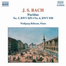 Johann Sebastian Bach (1685-1750): Partiten BWV 829 & 830, CD