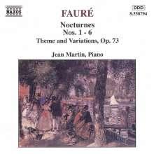 Gabriel Faure (1845-1924): Nocturnes Nr.1-6, CD