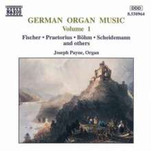 Deutsche Orgelmusik Vol.1, CD