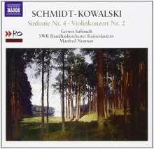 Thomas Schmidt-Kowalski (geb. 1949): Symphonie Nr.4 C-Dur op.96, CD
