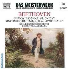 Ludwig van Beethoven (1770-1827): Symphonien Nr.5 & 6, CD
