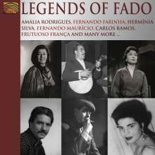 Pinto / Marceneiro / Tavares / Vasc: Legends Of Fado, CD