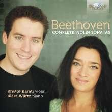 Ludwig van Beethoven (1770-1827): Violinsonaten Nr.1-10, 4 CDs