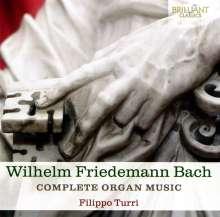 Wilhelm Friedemann Bach (1710-1784): Sämtliche Orgelwerke, 2 CDs