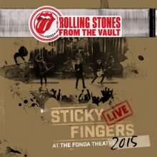 The Rolling Stones: From The Vaults: Sticky Fingers – Live At The Fonda Theatre 2015 (3 LP)