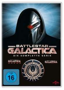 Battlestar Galactica Season 1-4 (Gesamtausgabe), 25 DVDs