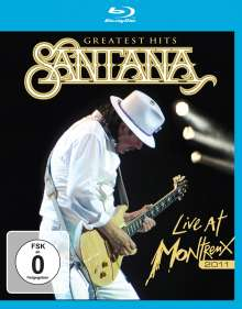 Santana: Greatest Hits: Live At Montreux 2011, Blu-ray Disc