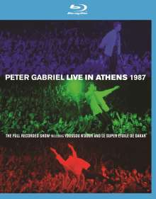 Peter Gabriel: Live In Athens 1987 + Play (Blu-ray + DVD), Blu-ray Disc