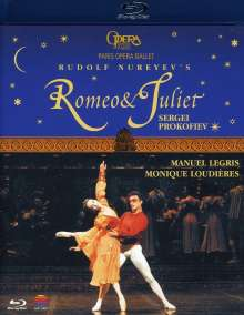 Ballet de l'Opera National de Paris:Romeo & Julia, Blu-ray Disc
