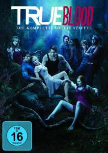 True Blood Season 3, 5 DVDs