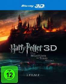 Harry Potter & die Heiligtümer des Todes 1 & 2 (3D Blu-ray), 2 Blu-ray Discs