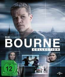 Bourne Collection 1-4 (Blu-ray im Digibook), 4 Blu-ray Discs