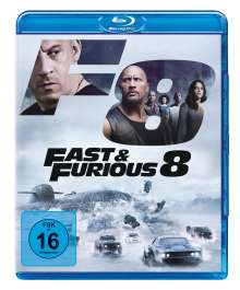 Fast & Furious 8 (Blu-ray), Blu-ray Disc
