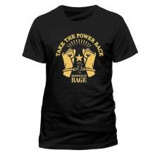 Prophets Of Rage: Take The Power Back (T-Shirt,Schwarz,Größe M), T-Shirt