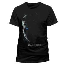 Game Of Thrones: White Walker (T-Shirt,Schwarz,Größe S), T-Shirt