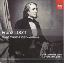 Franz Liszt (1811-1886): Lieder, CD