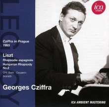 Georges Cziffra in Prag 1955, CD