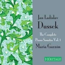 Johann Ludwig Dussek (1760-1812): Sämtliche Klaviersonaten Vol.1, 3 CDs