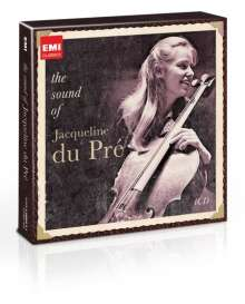 The Sound of Jacqueline du Pre, 4 CDs