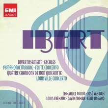 Jacques Ibert (1890-1962): Symphonie marine, 2 CDs