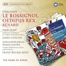 Igor Strawinsky (1882-1971): Le Rossignol, 2 CDs