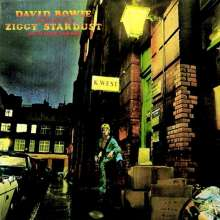 David Bowie: The Rise And Fall Of Ziggy Stardust And The Spiders From Mars (remastered) (180g) (40th Anniversary Limited Edition) (LP + Audio-DVD), LP