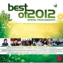 Best Of 2012: Spring. Frühlingshits, 2 CDs