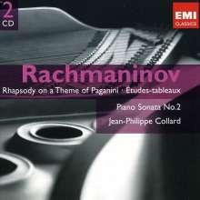 Sergej Rachmaninoff (1873-1943): Etudes-Tableaux op.33 & op.39, 2 CDs