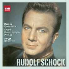 Rudolf Schock - Electrola-Mitschnitte 1952-1961, 10 CDs