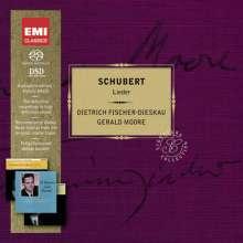 Franz Schubert (1797-1828): Lieder, 4 SACDs