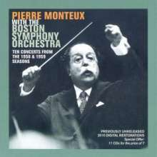Pierre Monteux with the Boston Symphony Orchestra, 11 CDs