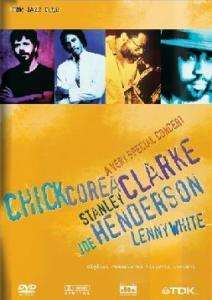 Chick Corea, Stanley Clarke, Joe Henderson & Lenny White: A Very Special Concert 1982, DVD