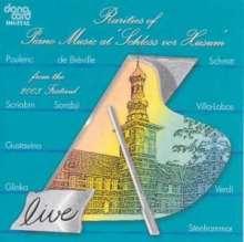 "Piano Music at ""Schloss vor Husum"" 2003, CD"