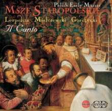 Early Polish Masses, CD