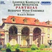 Leopold Kozeluch (1747-1818): 3 Parthias f.Bläser, CD