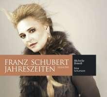 """Franz Schubert (1797-1828): Lieder """"Jahreszeiten"""", CD"""