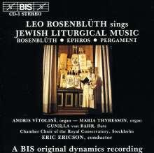 Leo Rosenblüth - jüdische liturgische Musik, CD