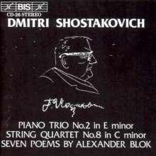 Dimitri Schostakowitsch (1906-1975): Klaviertrio Nr.2 op.67, CD