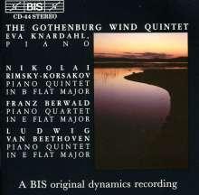 Franz Berwald (1796-1868): Klavierquartett in Es, CD
