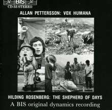 Allan Pettersson (1911-1980): Vox Humana für Chor & Orchester, CD