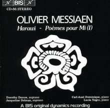 Olivier Messiaen (1908-1992): Harawi-12 Lieder von Liebe und Tod, CD