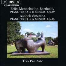 Felix Mendelssohn Bartholdy (1809-1847): Klaviertrio Nr.1 op.49, CD