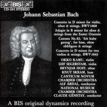Johann Sebastian Bach (1685-1750): Kantate BWV 82, CD